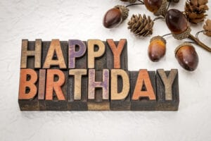Home Care in Hendersonville NC: Birthdays